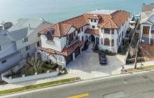 $6.995 Million Mediterranean Waterfront Home In Longport, NJ
