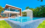 $11.5 Million Newly Built Contemporary Waterfront Home In Miami Beach, FL