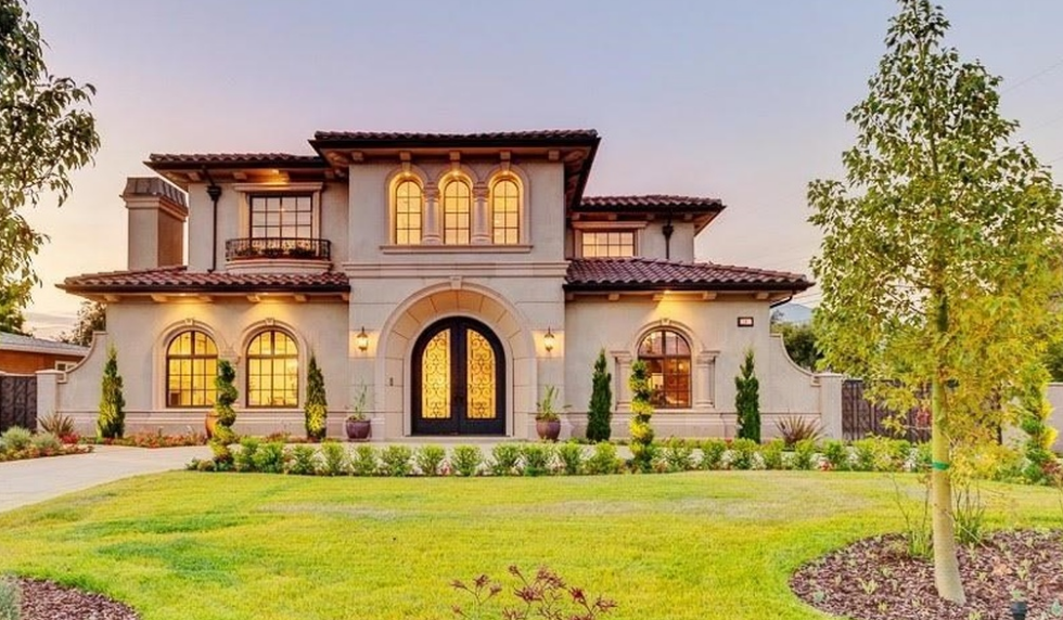 $3.79 Million Newly Built Mediterranean Home In Arcadia, CA