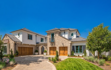 $5.2 Million Newly Built French Country Inspired Mansion In Arcadia, CA