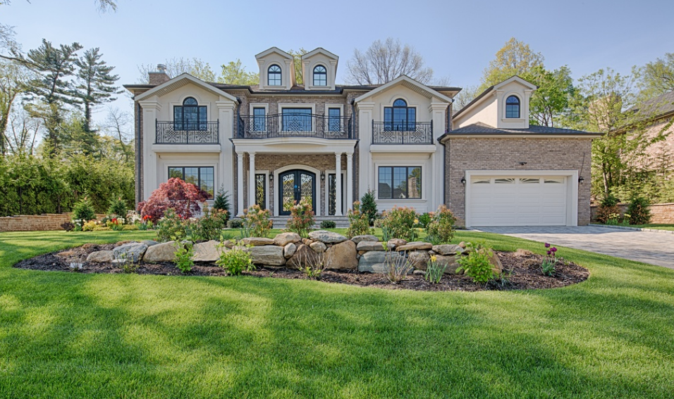 $3.6 Million Newly Built Brick & Stucco Home In Great Neck, NY