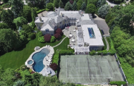 20,000 Square Foot French Inspired Mansion In Alpine, NJ