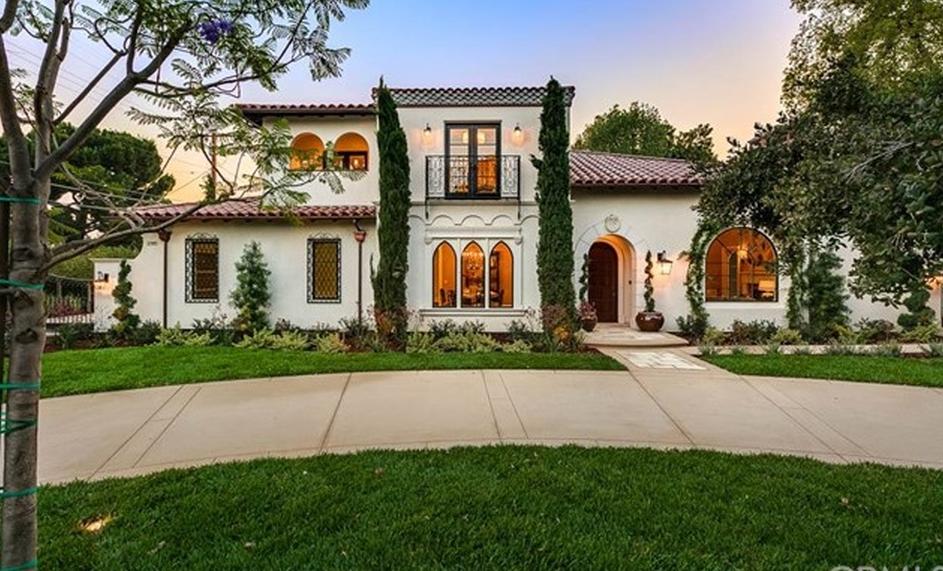 $7.498 Million Newly Built Mediterranean Home In San Marino, CA
