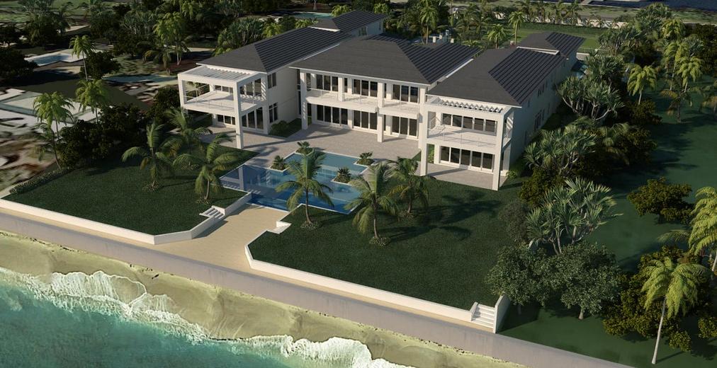 $32.9 Million Oceanfront Mansion Under Construction In Lantana, FL
