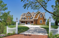 $4.69 Million Newly Built Waterfront Shingle Home In Rumson, NJ