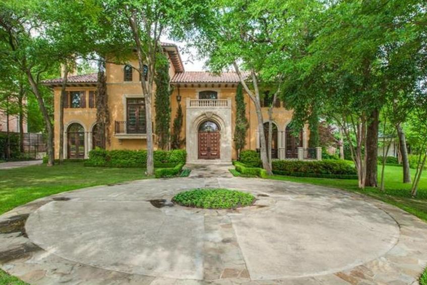 $3.199 Million Mediterranean Home In Dallas, TX