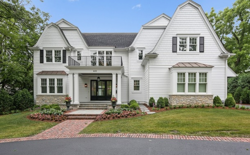 $2.995 Million Newly Built Colonial Home In Hinsdale, IL