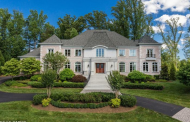 13,000 Square Foot Brick Mansion In McLean, VA