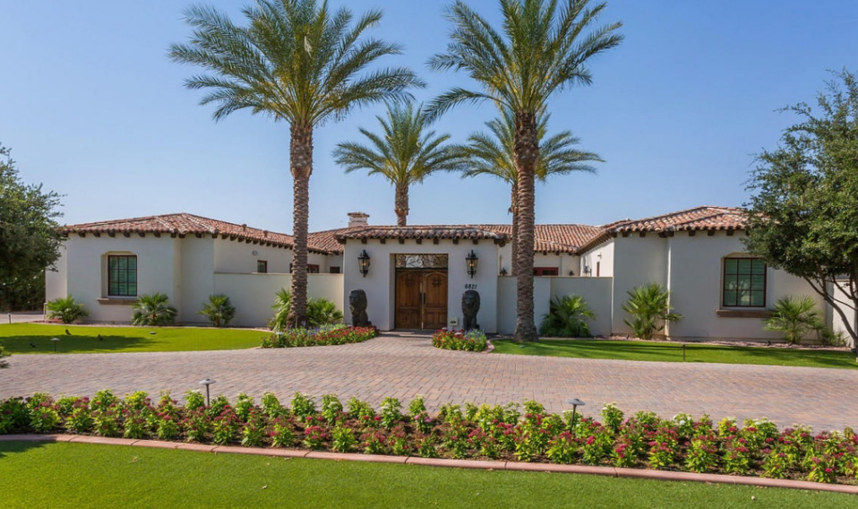 2 995 Million Mediterranean Home In Paradise Valley Az