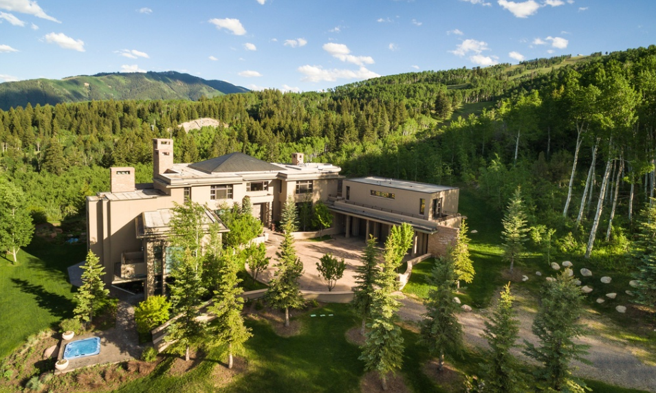 $24.75 Million Contemporary Mountaintop Mansion In Aspen, CO