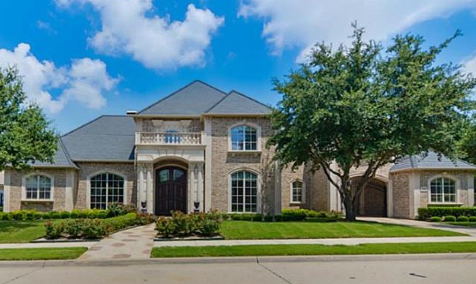 $3.3 Million Brick Mansion In Frisco, TX