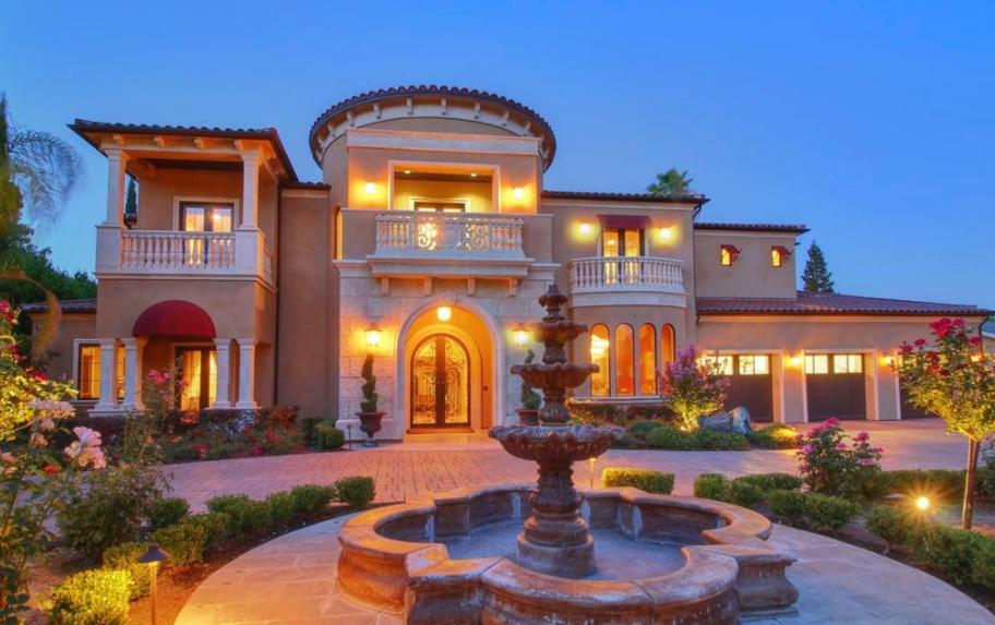 $3.3 Million Mediterranean Home In Sacramento, CA