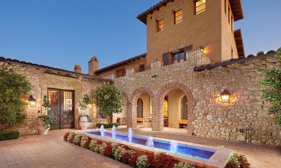 $9.495 Million Mediterranean Mansion In Irvine, CA