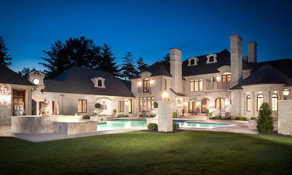 16 000 Square Foot Limestone Mansion In Saint Louis Mo