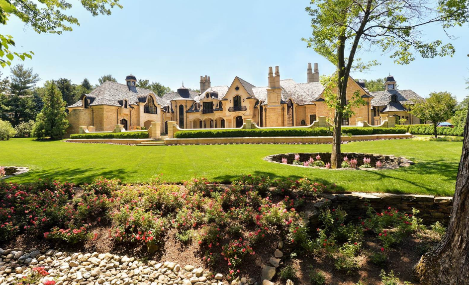 La Maison de Rêves – A French Inspired Stone Mansion In Saddle River, NJ