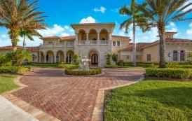 15,000 Square Foot Mediterranean Mansion In Parkland, FL