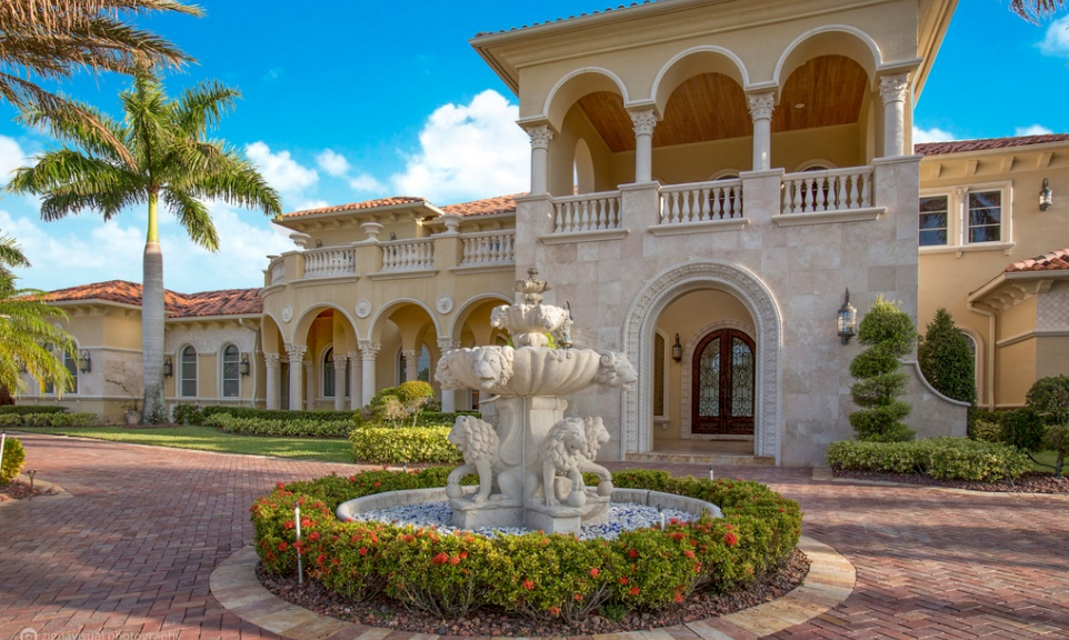 15 000 Square Foot Mediterranean Mansion In Parkland Fl