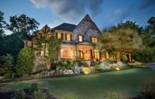 11,000 Square Foot Brick & Stone Mansion In Alpharetta, GA