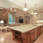 Gourmet Kitchen & Family Room