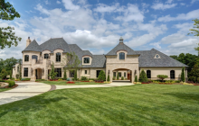 10,000 Square Foot Newly Built French Inspired Mansion In Edmond, OK
