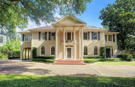 $4.495 Million Colonial Brick Home In Houston, TX