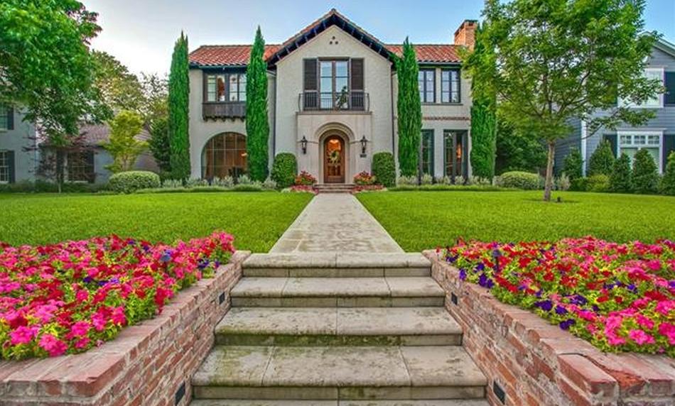 $4 Million Mediterranean Home In Dallas, TX