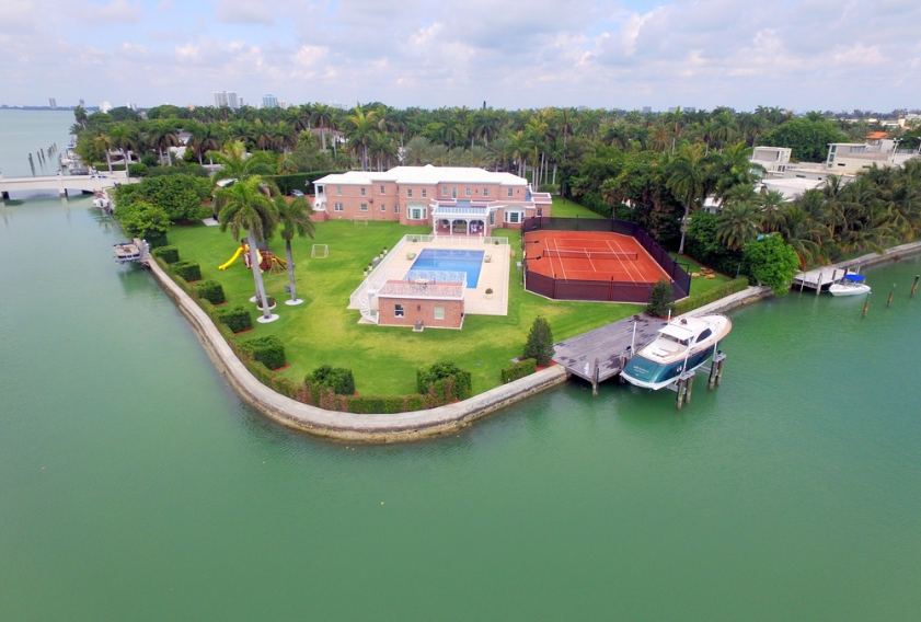 $39 Million Waterfront Estate In Miami Beach, FL