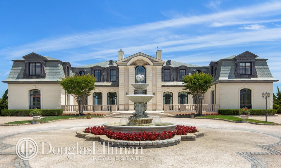 Oceanfront French Chateau In Long Branch, NJ Re-Listed For $38.9 Million