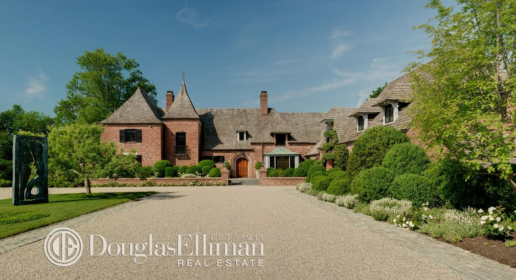 $14.9 Million Historic English Country Brick Mansion In Greenwich, CT