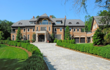$12.5 Million Brick & Limestone Mansion In Greenwich, CT