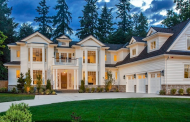 10,000 Square Foot Newly Built Traditional Mansion In Medina, WA
