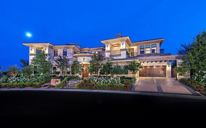 $10.895 Million Mansion In Las Vegas, NV