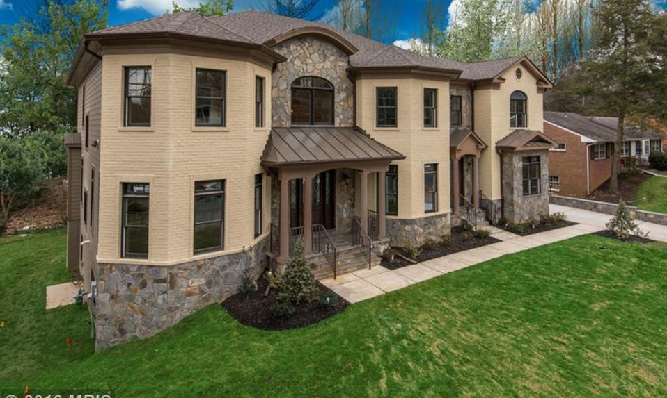 $2.5 Million Newly Built Brick & Stone Mansion In McLean, VA