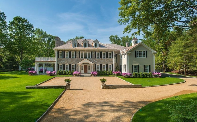 $10.95 Million Newly Built Colonial Mansion In Greenwich, CT