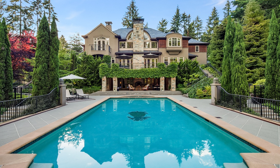 7 3 Million Mansion In Bellevue Wa Homes Of The Rich