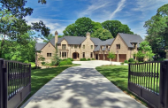 12,000 Square Foot Brick & Stone Mansion In Atlanta, GA