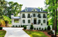 $2.6 Million Newly Built Brick Mansion In Atlanta, GA