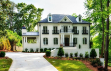 $2.6 Million Newly Built Brick Mansion In Atlanta, GA