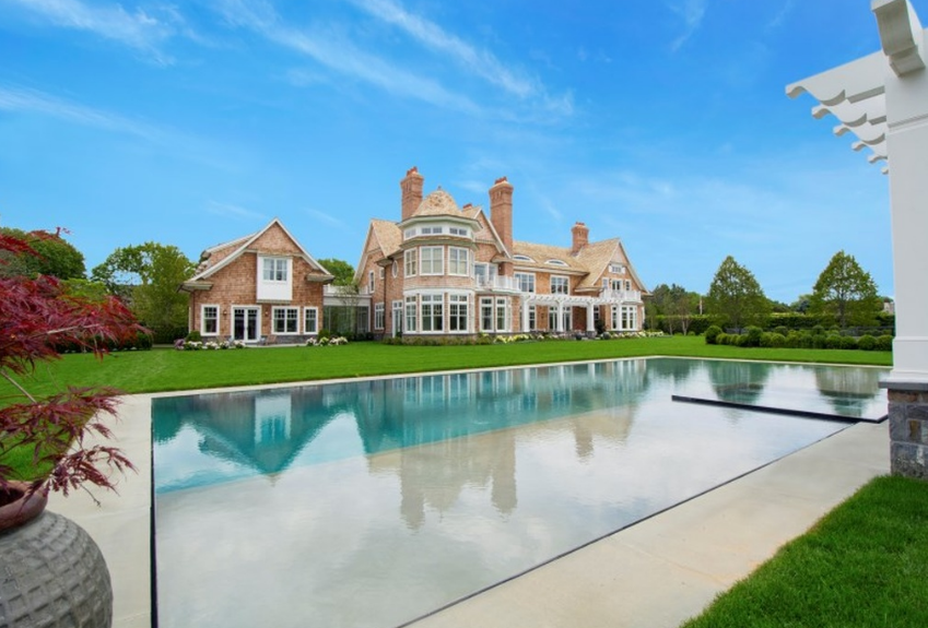$32 Million Newly Built Shingle Mansion In Southampton, NY