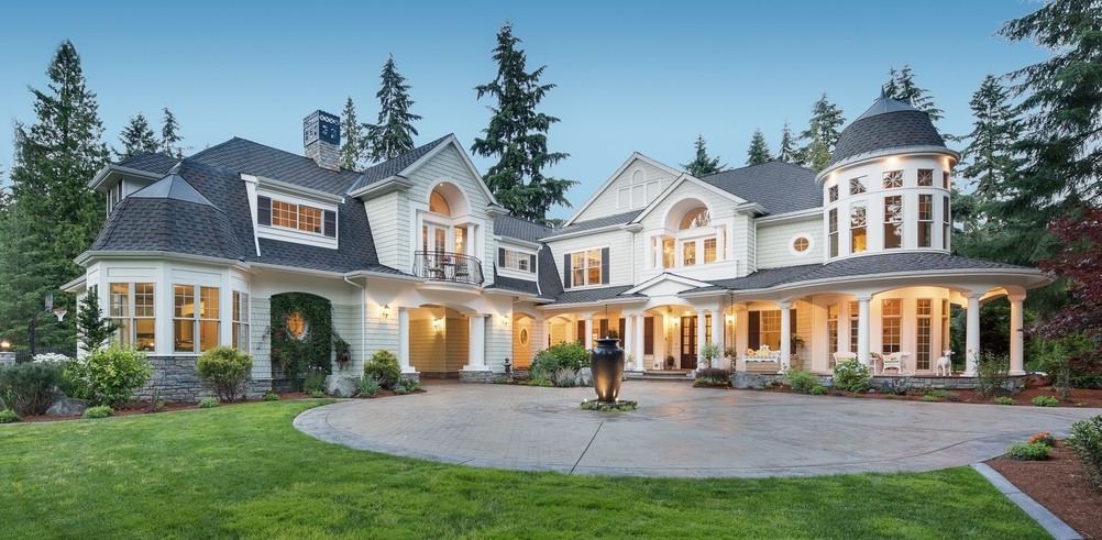 4 8 million mansion in bellevue wa homes of the rich for Washington home builders