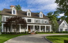 $4.295 Million Colonial Mansion In Purchase, NY