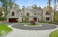 $2.8 Million Newly Built Colonial Stone & Stucco Home In Syosset, NY