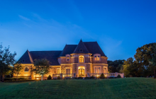 12,000 Square Foot French Inspired Brick Mansion In Durant, OK