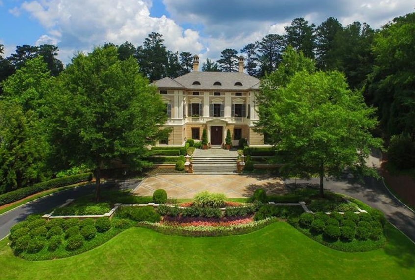 $10 Million Mansion In Atlanta, GA