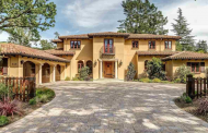 $3.695 Million Tuscan Inspired Home In Lafayette, CA