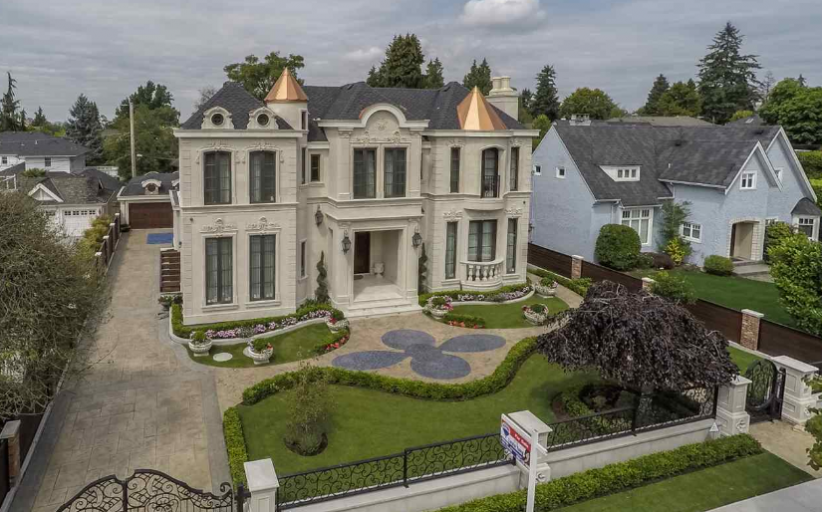 $15 Million Newly Built Stone Home In Vancouver, Canada