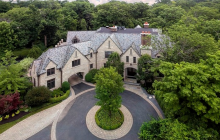 $5 Million Stone Mansion In Glencoe, IL