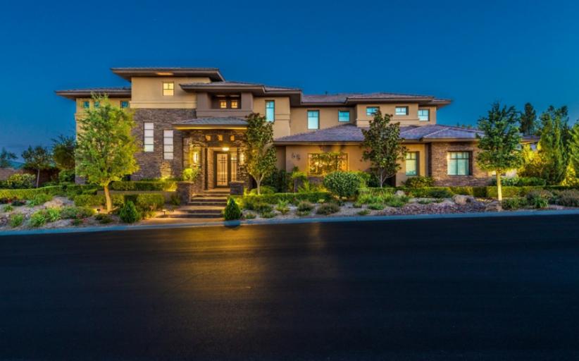 $3.495 Million Contemporary Home In Las Vegas, NV