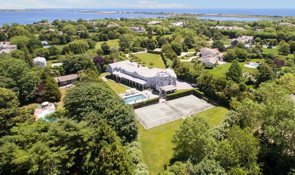 $13.9 Million Shingle Mansion In Water Mill, NY