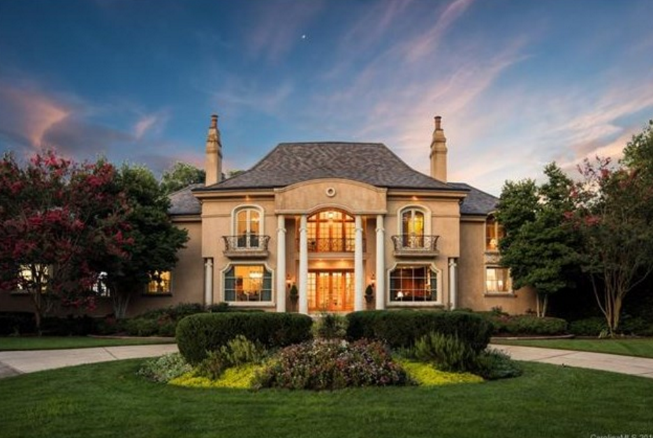 Million european inspired home in charlotte nc - 5 bedroom houses for sale in charlotte nc ...